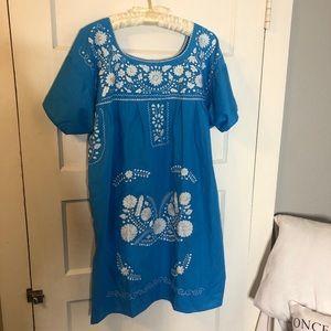 EUC Mexican inspired pajama/dress!
